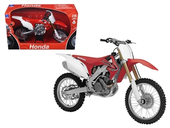 2012 Honda CR 250R Red Motorcycle Model 1/12 by New Ray, New Ray Item Number NR57463