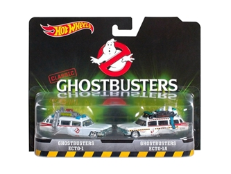 Ghostbusters Ecto 1 and Ecto 1A Set of 2 Cars Cars (1:50)