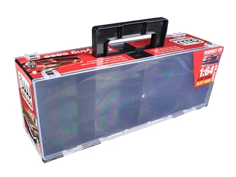 24 Cars Carry Display Case for 1/64 Scale Model Cars by Autoworld