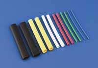 "1/4"" Dia. Heat Shrink Tubing Yellow (QTY/PKG: 3 )"