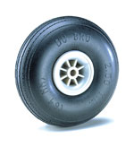 "3"" Dia. Treaded Lightweight Wheel (2), DU-BRO Item Number DUB300TL"