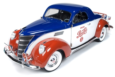 37 Lincoln Zephyr Coupe Pepsi