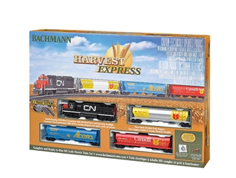 HO Harvest Express Train Set, Bachmann Model Trains Item Number BAC735