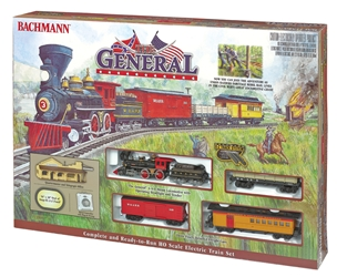 Ho The General Train Set, Bachmann Model Trains Item Number BAC736