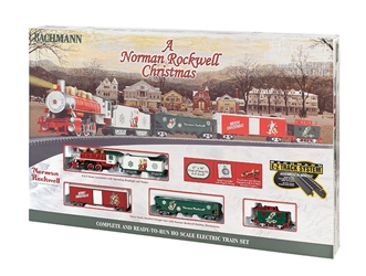 A Norman Rockwell Christmas HO, Bachmann Model Trains Item Number BAC741