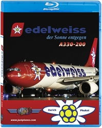 Edelweiss A330-200 (BluRay DVD), Just Planes Aviation Blu-Ray Item Number JPEDW1B