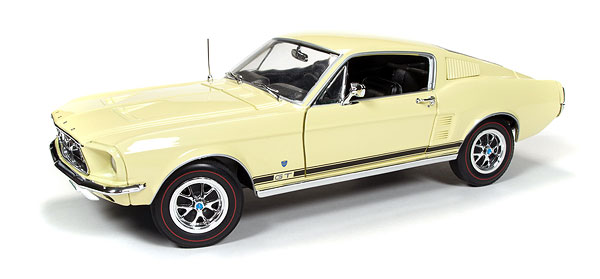 1967 Ford Mustang GT Golden 50th Anniversary of