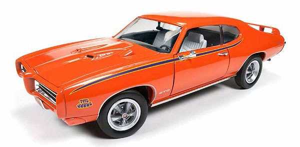 1969 Pontiac GTO Judge 1:18
