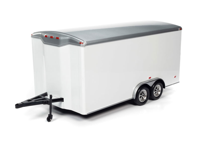 Enclosed Car Trailer (1:18)