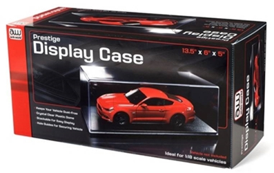 Plastic Display Case, Auto World Item Number AWAWDC001