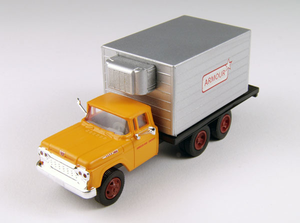 Armour Meats - 1960 Ford Delivery Truck  (1:87), Classic Metal Works Item Number CMW30416