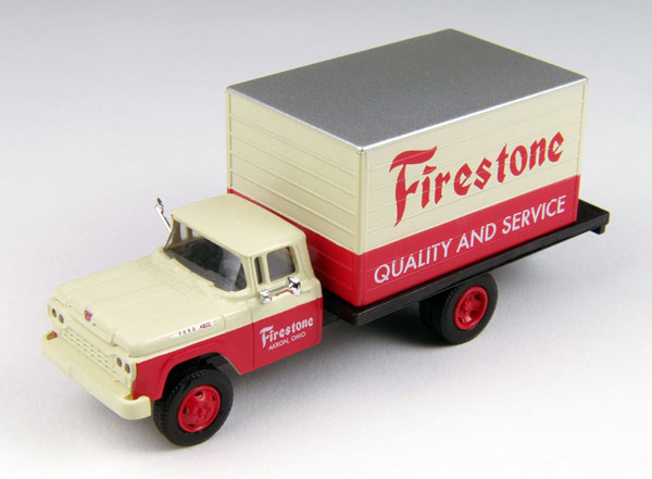 Firestone Tires - 1960 Ford F-500 Delivery Truck (1:87)