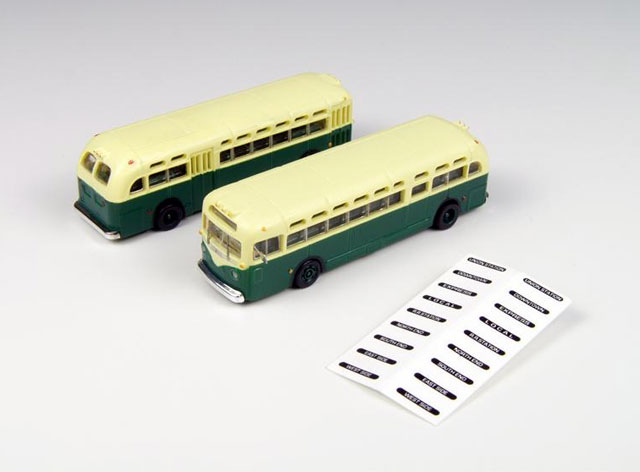 GMC TDH-3610 Transit Bus  (1:160), Classic Metal Works Item Number CMW52309