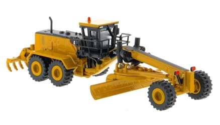 Caterpillar 24M Motor Grader (1:125), Diecast Masters Item Number CAT85539