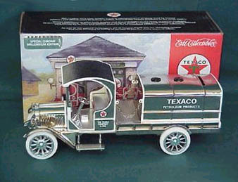 Wings Of Texaco #17 2000 1919 GMC Tanker Truck - Diecast Metal Bank (1:33)