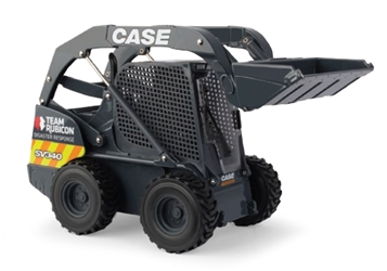 Case SV340 Skid Steer with Team Rubicon Disaster Response Graphics (1:16), ERTL Item Number ERTL44158A