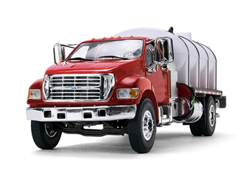 Ford F-650 in Red with Roto Molded Water Truck (1:34) by First Gear Item Number: FRG10-4152