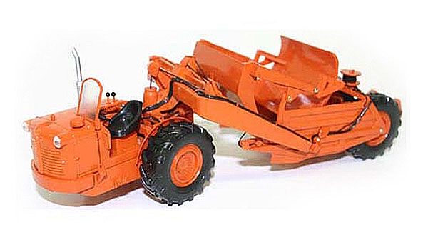 Allis-Chalmers TS300 Cable Operated Motor Scraper Official 2007 (1:50), First Gear Item Number FRG50-3099