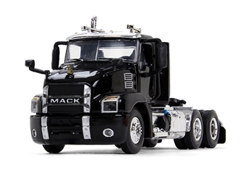 Mack Anthem Day Cab in Black diecast metal replica (1:64), First Gear, Item Number FRG60-0406