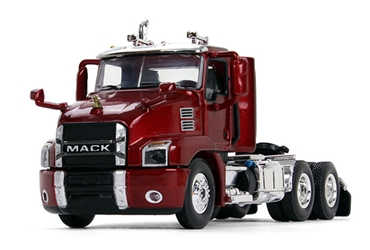 Mack Anthem Day Cab in Lacquer Red diecast metal replica (1:64), First Gear, Item Number FRG60-0407