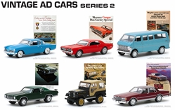 Vintage Ad Cars Series 2 by Greenlight <p> Item Number: GLC39030-CASE