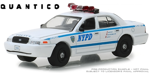(NYPD) - 2003 Ford Crown Victoria Police Interceptor - Quantico (TV Series, 2015-18) 1/64 Scale
