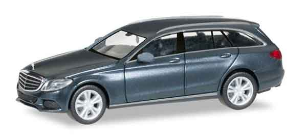 Mercedes-Benz C Class with Model T Elegance in Mettalic Grey (1:87)