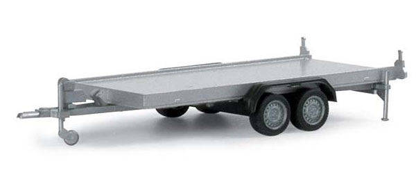 2-Axle Trailer (1:87),  Item Number HE052450