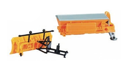 Snow Plow And Sander Box (1:87),  Item Number HE053396