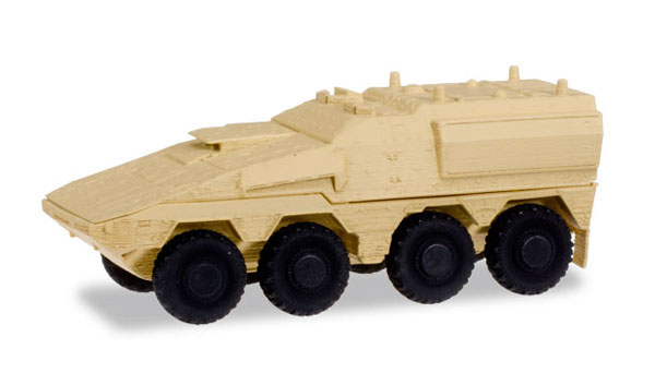 GTL Boxer Sanitation Vehicle in Sand Beige (1:87)