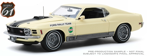 1970 Ford Mustang Mach 1 (1:18)