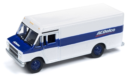 AC Delco - 1990s GMC Step Van Delivery Truck in White 1/87 HO Scale