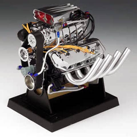 Hemi Top Fuel Dragster Engine (1:6), Liberty Item Number 84028