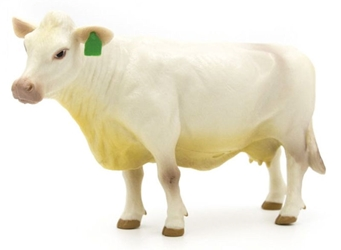 Charolais Cow - SUPER DURABLE construction (1:16)