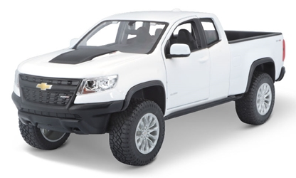 2017 Chevrolet Colorado ZR2 in White 1:27 by Maisto Item Number: MST31517WT