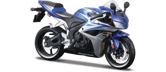 2007 Honda CBR 600RR in Blue 1:12 by Maisto Item Number: MST39154BL