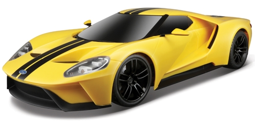 2017 Ford GT in Yellow and Black - Remote Control (1:14), Maisto Item Number MST81273YBK