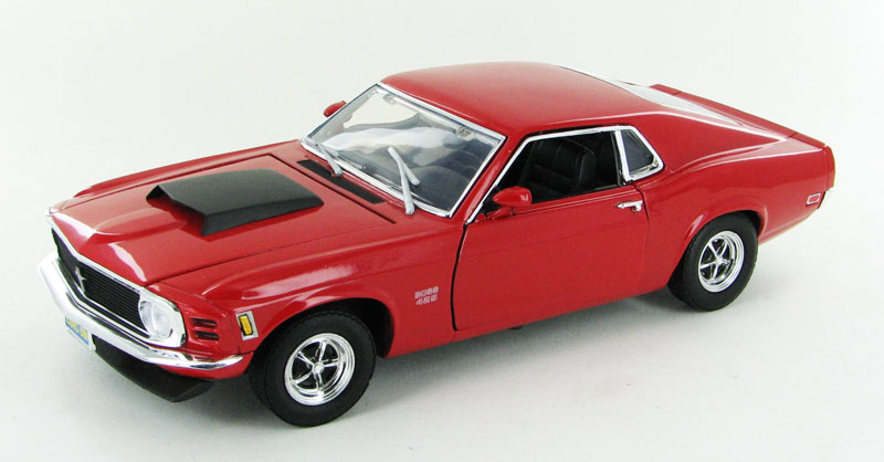1970 Ford Mustang Boss 429 in Red (1:18)