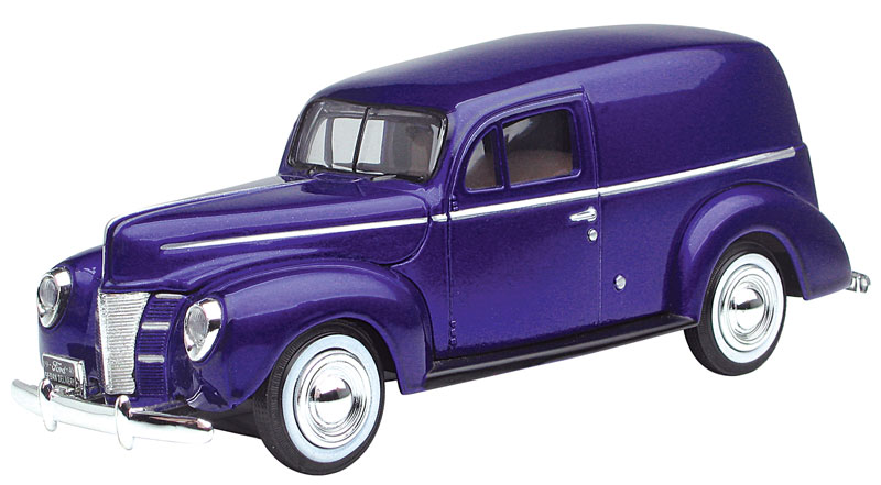 1940 Ford Sedan Delivery in Metallic Purple (1:24)