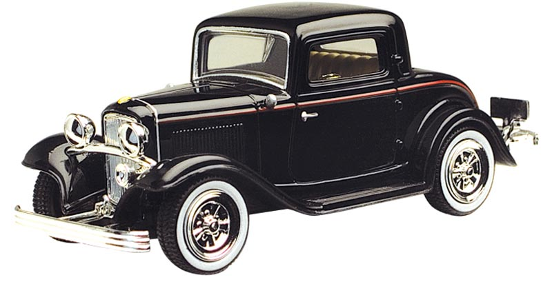 1932 Ford Coupe (1:43), Motor Max Item Number MMX73801AC