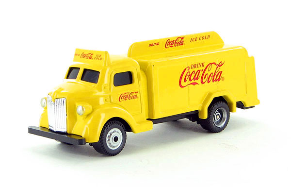 Coca-Cola - 1947 Bottle Truck in Yellow (1:87)