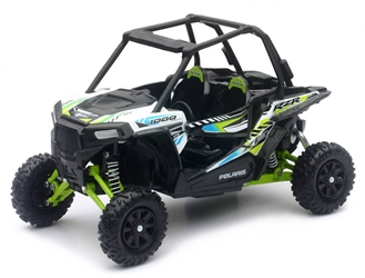 Polaris RZR XP 1000 ATV in White Lightning 1:18 by New Ray Diecast Item Number: NR57593C