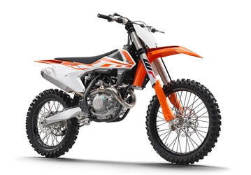 KTM 450 SXF 2018 Dirt Bike 1:10 by New Ray Diecast Item Number: NR57943