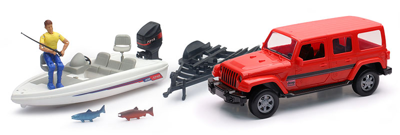 Jeep Sahara Playset (1:20)