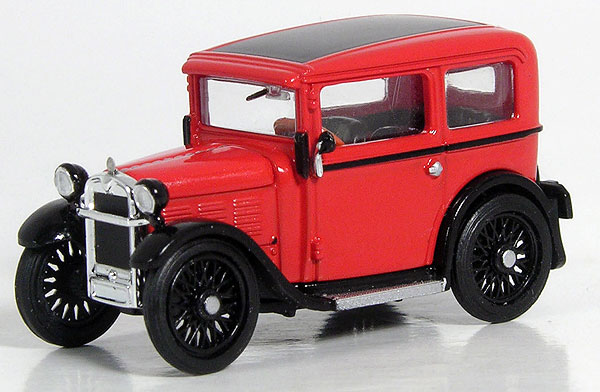 1929 BMW Dixi in Red (1:87), RICKO, Item Number RICKO38399