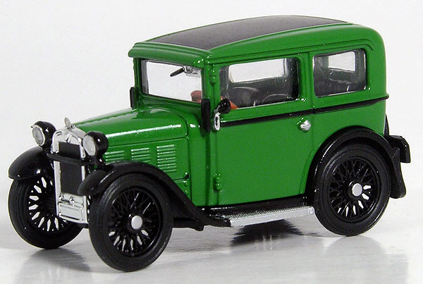1929 BMW Dixi in Green (1:87), RICKO Item Number RICKO38499