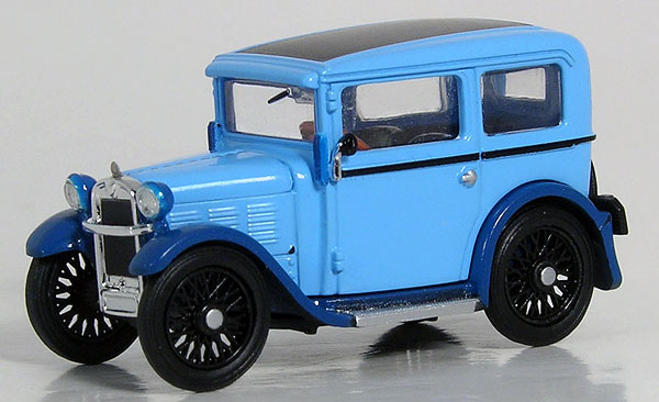1929 BMW Dixi in Blue (1:87), RICKO Item Number RICKO38599
