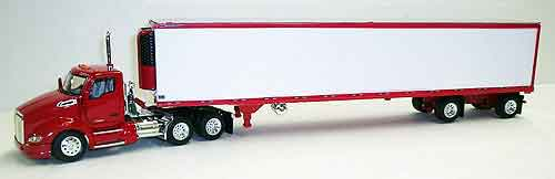Kenworth T680 Day Cab in Red (1:53), Tonkin, Item Number TNK500044