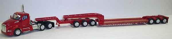 Kenworth T680 Day Cab in Red (1:53), Tonkin, Item Number TNK500048