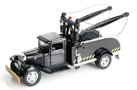 1934 Ford BB-157 Tow Truck (1:43), Unique Replicas Item Number 18381